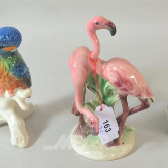 3 Porzellan Vogelfiguren  ''GOEBEL''