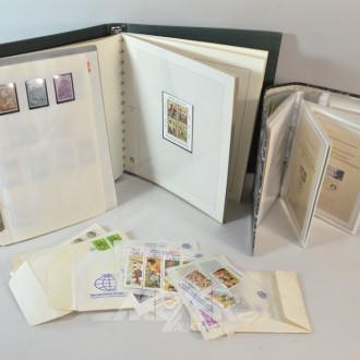 Posten Briefmarken und Ersttagsblätter