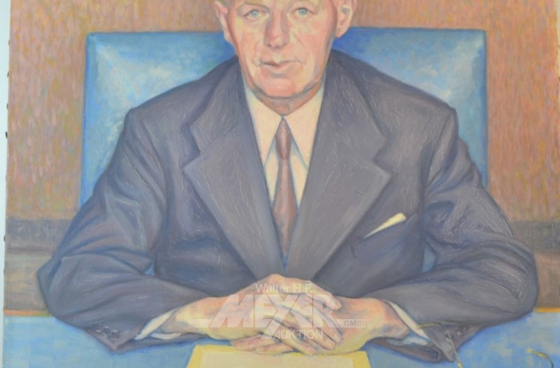 Gemälde  ''Herrenportrait''