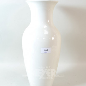 Porzellan Vase ''KPM'' Höhe 40 cm