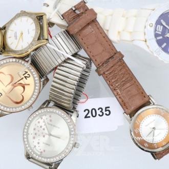 5 Damen-und Herren-Armbanduhren