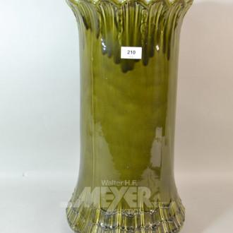 Keramik Bodenvase Höhe 53 cm