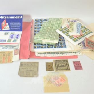 kleiner Posten Briefmarken