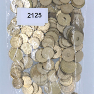 Posten Münzen sowie Armband NOMINATION