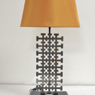 Paar Tischlampen, asiatischer Stil,