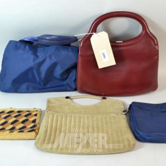 5 Damen Hand- und Abendtaschen