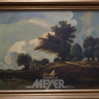 Gemälde ''Flusslandschaft''