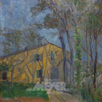 Gemälde ''gelbes Haus''