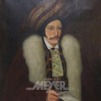 Gemälde ''Portrait osmanischer Edelmann''