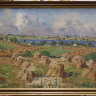 Gemälde ''Heuernte''