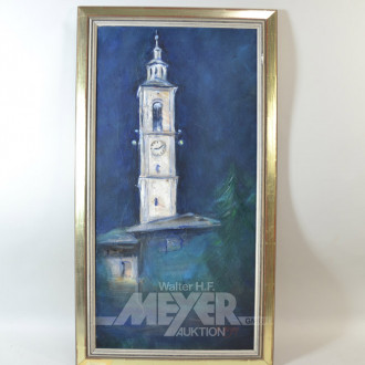 Gemälde  ''Kirchturm''
