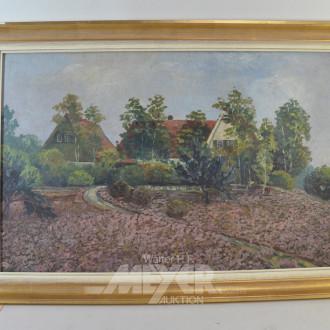 Gemälde ''Rissen, Lokal Haidberg''