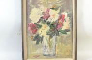 Gemälde ''Blumen in Vase''