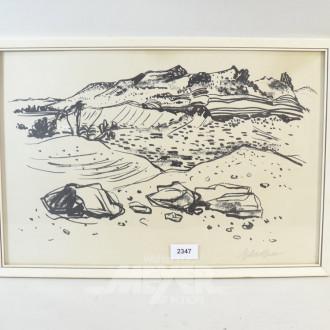 Bild  ''Küstenlandschaft''