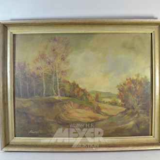 Gemälde  ''Herbstlandschaft''