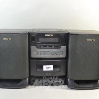 Mini-Musikanlage, AIWA, ohne FB