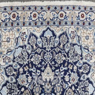 Orientteppich ''Nain'', blaugrundig