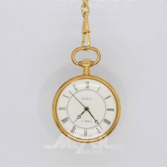 Taschenuhr mit Uhrenkette, GENEVE