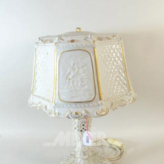 Porz.-Tischlampe, figürliche Darstellung