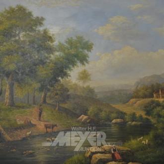 Gemälde ''Romantische Landschaft''