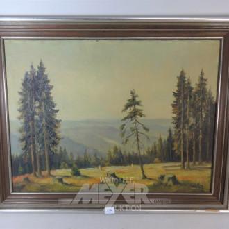Gemälde ''Wald-Lichtung''
