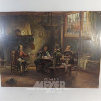 Gemälde ''Herrenrunde''