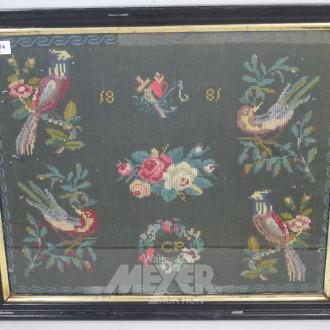 Strickbild ''Vogelmotive''