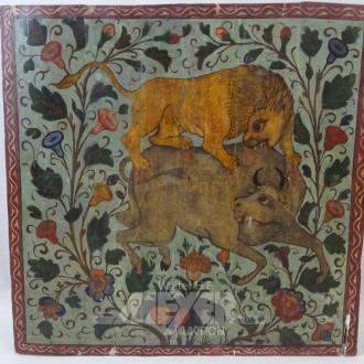 Gemälde ''Tierische Jagt''