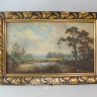 Gemälde ''Seenlandschaft'' unsigniert