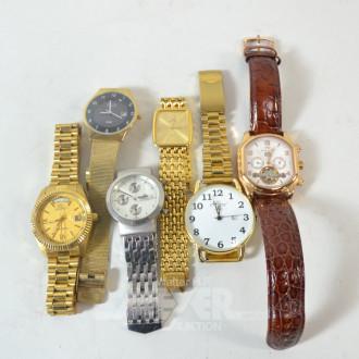 11 div. Herren- Armbanduhren