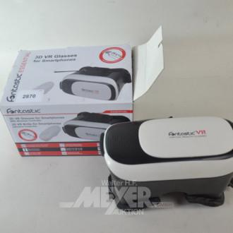 3D VR Brille für Smartphone