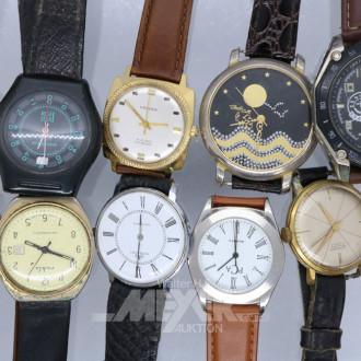 26 Damen- und Herren-Armbanduhren