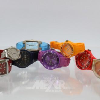 8 Armbanduhren