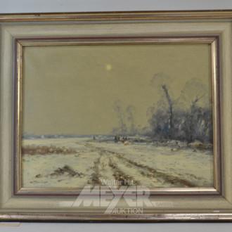 Gemälde ''verschneite Landschaft''