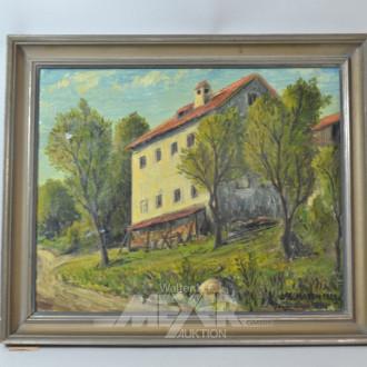 Gemälde ''Hausansicht''