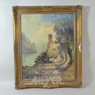 Gemälde ''Gardasee''