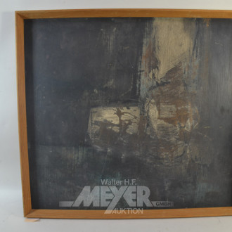 Gemälde ''Abstrakte Darstellung''