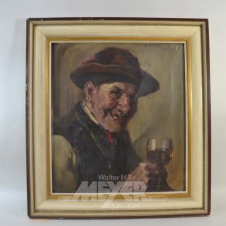 Gemälde ''Weintrinker''