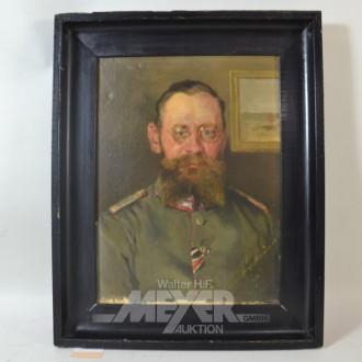 Gemälde ''Soldaten Portrait''