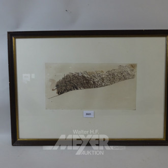 Lithografie ''Landschaft''