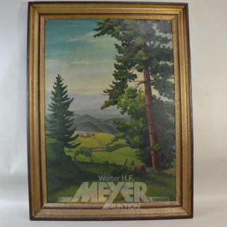 Gemälde ''Blick ins Tal''