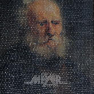 2 Gemälde ''Herrenportraits''