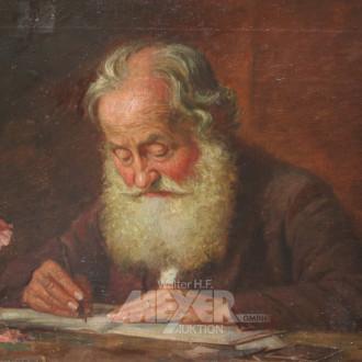 Gemälde ''Gelehrter''