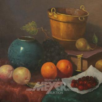 Gemälde ''Stillleben mit Obst und