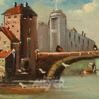 kl. Gemälde ''Venedig''