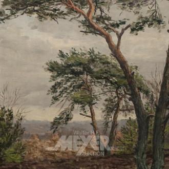 Gemälde ''Norddt. Landschaft''