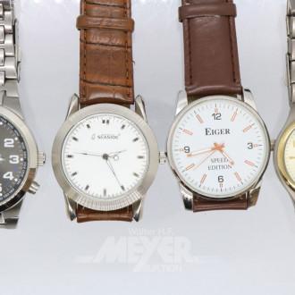 11 Damen- und Herrenarmbanduhren