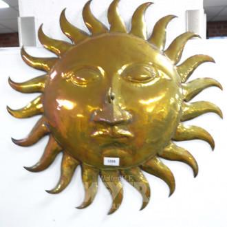 Metalldekoration ''Sonne''