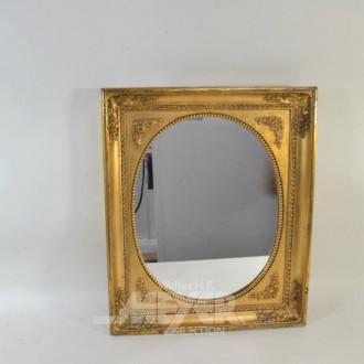 3 div. Spiegel, goldfarbige Holzrahmen