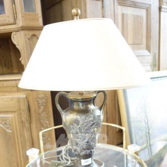Amophorenvasenlampe, Messing bronziert